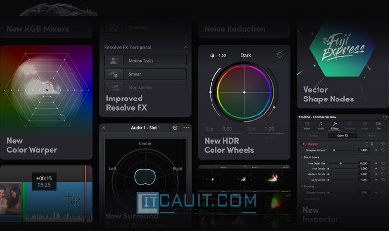 DaVinci Resolve – Phần mềm chỉnh sửa video đa nền tảng