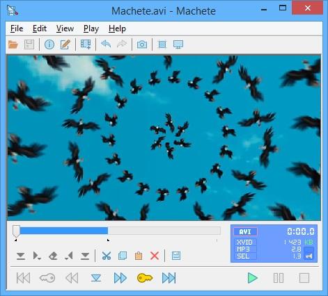 Machete Video Editor Lite – Phần mềm chỉnh sửa video dễ dùng