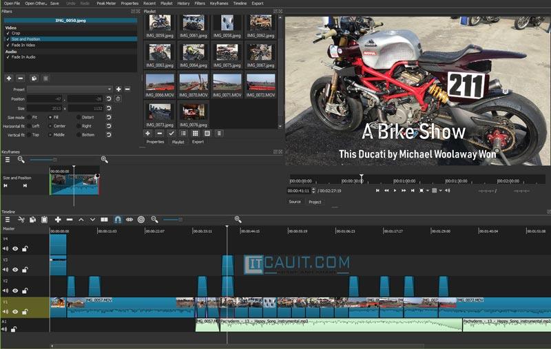 Shotcut – Phần mềm edit video đa nền tảng miễn phí và chuyên nghiệp